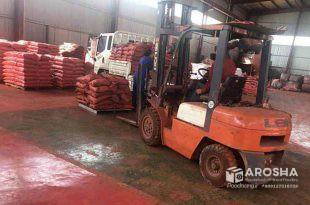 کارخانه تولید پودر اخرا مش 1500 کیسه 30 کیلوگرمی