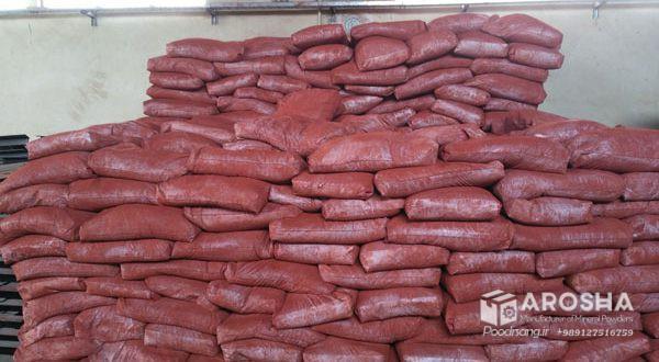 تولید پودر اخرا میکرونیزه جهت رنگ دهی مش 1500