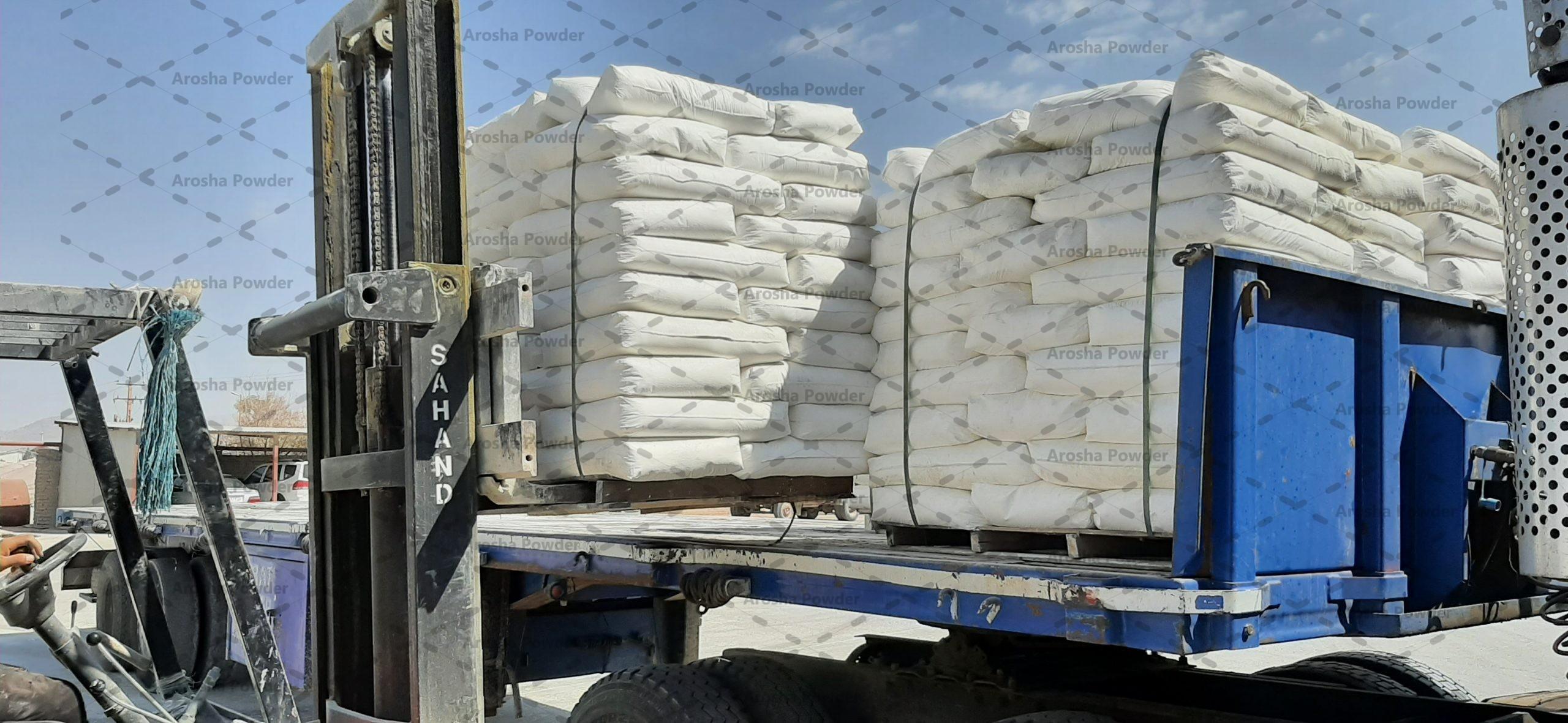 عمده فروشی پودر کربنات کلسیم پوشش دار